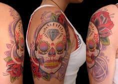 Sugar Skull Tattoo Meaning 10