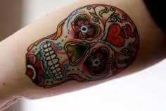 Sugar Skull Tattoo Meaning 11