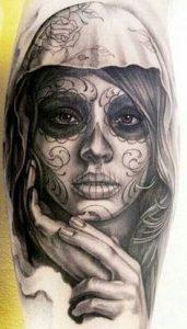 Sugar Skull Tattoo Meaning 14