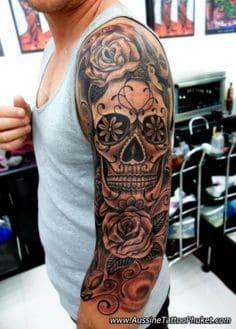 Sugar Skull Tattoo Meaning 15