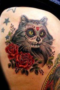 Sugar Skull Tattoo Meaning 17
