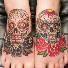 Sugar Skull Tattoo Meaning 19
