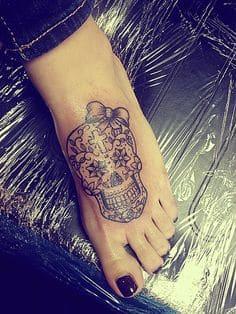 Sugar Skull Tattoo Meaning 20