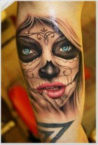 Sugar Skull Tattoo Meaning 21