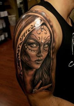 Sugar Skull Tattoo Meaning 45 Ideas And Designs