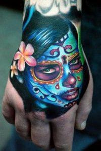 Sugar Skull Tattoo Meaning 27