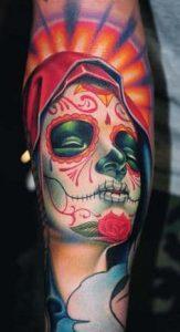 Sugar Skull Tattoo Meaning 28