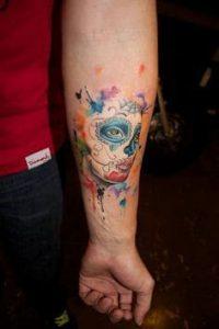 Sugar Skull Tattoo Meaning 29