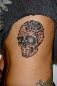 Sugar Skull Tattoo Meaning 3