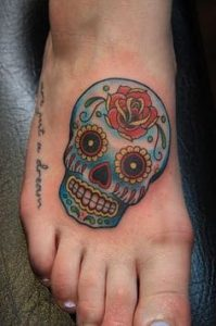 What Does Sugar Skull Tattoo Mean Represent Symbolism