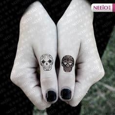 Sugar Skull Tattoo Meaning 35