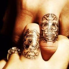 Sugar Skull Tattoo Meaning 36
