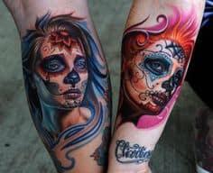 Sugar Skull Tattoo Meaning 39