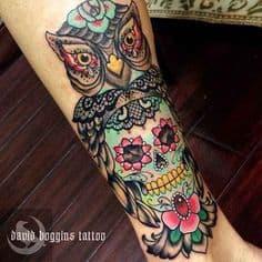 Sugar Skull Tattoo Meaning 41