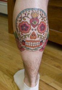 Sugar Skull Tattoo Meaning 44