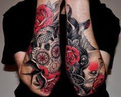 Sugar Skull Tattoo Meaning 48