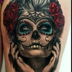 Sugar Skull Tattoo Meaning & Symbolism