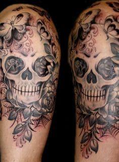 Sugar Skull Tattoo Meaning 50