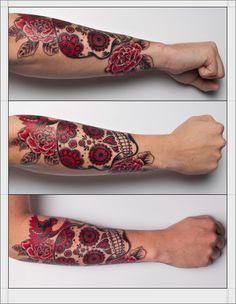 Sugar Skull Tattoo Meaning 51