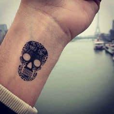 Sugar Skull Tattoo Meaning 7