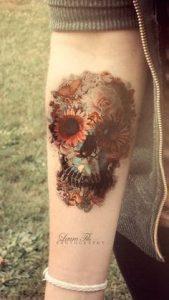 Sugar Skull Tattoo Meaning 8