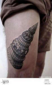 Thigh Tattoo 10