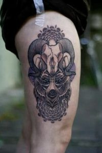 Thigh Tattoo 11