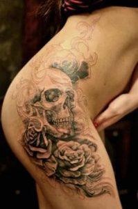 Thigh Tattoo 20