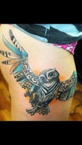 Thigh Tattoo 21