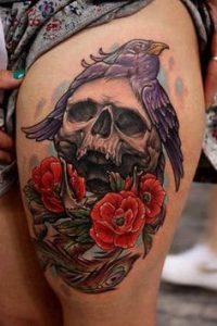 Thigh Tattoo 24