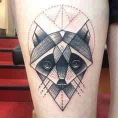 Thigh Tattoo 26