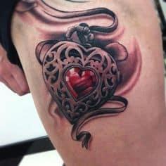 Thigh Tattoo 29
