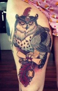 Thigh Tattoo 3