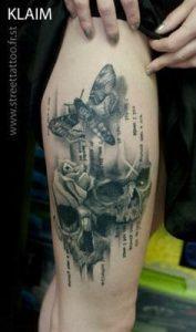 Thigh Tattoo 31