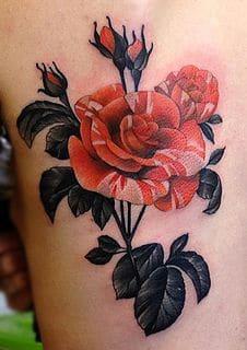 Thigh Tattoo 36