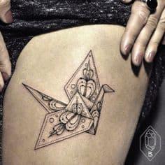Thigh Tattoo 44