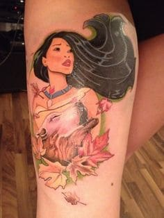 Thigh Tattoo 49