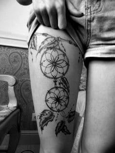 Thigh Tattoo 6