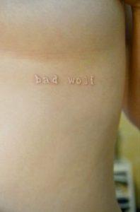 White Tattoo 44