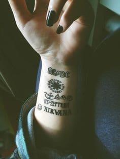 Wrist Tattoo 16