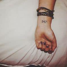 Wrist Tattoo 24