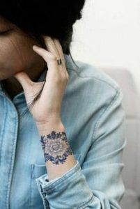 Wrist Tattoo 58