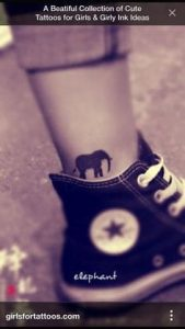 Ankle Tattoos for Girls 17