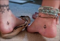 Ankle Tattoos for Girls 25