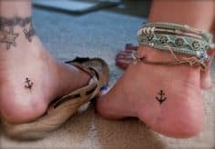Ankle Tattoos for Girls 8