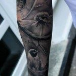 flower-tattoo-for-men-1