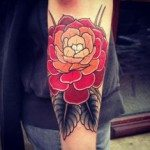 Flower Tattoo for Men (12)