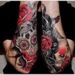 Flower Tattoo for Men (14)