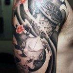 Flower Tattoo for Men (15)