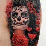 Flower Tattoo for Men (16)
